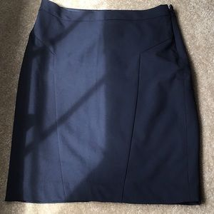 The Limited Navy Skirt